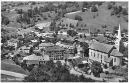 FIESCH → Dorfpartie Bei Der Kirche, Fotokarte Ca.1955 - VS Valais