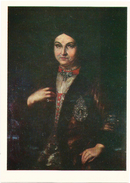 """RUSSIA - RUSSIE - RUSSLAND Stetsenko """"Portrait Of N.D. Rozumovska"""" - Beroemde Vrouwen"""