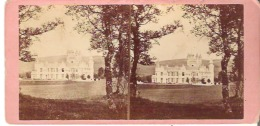 Balmoral Castle West Front - Stereoscope Cards