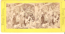 Group At Nazareth  Foreign Scenery - Stereoscope Cards