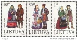Lietuva Litauen 1993 MNH ** Mi. Nr. 537-539 - Lithuania