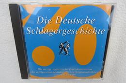 """CD """"Die Deutsche Schlagergeschichte 1960"""" Authentische Tondokumentation Erfolgreicher Dtsch. Titel Im Original 1959-1989 - Música & Instrumentos"""