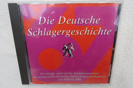 """CD """"Die Deutsche Schlagergeschichte 1967"""" Authentische Tondokumentation Erfolgreicher Dtsch. Titel Im Original 1959-1988 - Música & Instrumentos"""