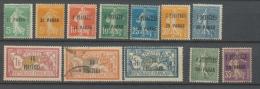 Colonies Françaises LEVANT Lot Entre N°28 Et 40 N*/Obl Cote 108 € N2527