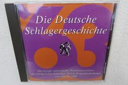 """CD """"Die Deutsche Schlagergeschichte 1963"""" Authentische Tondokumentation Erfolgreicher Dtsch. Titel Im Original 1959-1988 - Sonstige - Deutsche Musik"""