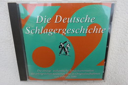 """CD """"Die Deutsche Schlagergeschichte 1962"""" Authentische Tondokumentation Erfolgreicher Dtsch. Titel Im Original 1959-1989 - Music & Instruments"""