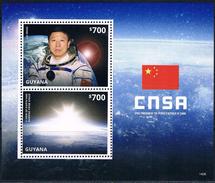 Bloc Sheet Espace Space  Neuf ** MNH  Guyana 2014
