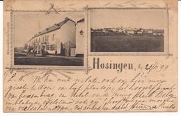 HOTEL HIPPERT HOSINGEN STEMPEL ULFLINGEN 1899 R 6/025 Edit. CH. BERNHOEFT - Cartes Postales
