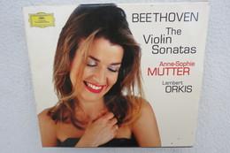 "4 CDs ""Anne-Sophie Mutter"" Beethoven, The Violin Sonatas - Klassik"