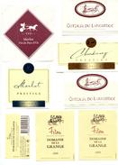 7 Etiquettes Et 1 Contre Etiquette Avec Char Romain - Oldtimers