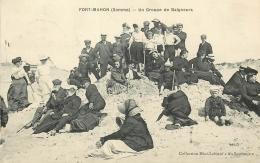 80 FORT-MAHON UN GROUPE DE BAIGNEURS - Fort Mahon