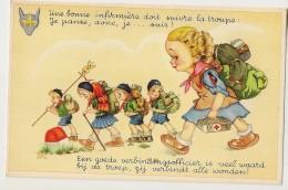 S5507 - Une Bonne Infirmière Doit Suivre La Troupe... - Scoutisme