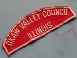 OKAW VALLEY COUNCIL Illinois / Zie Foto Voor Detail ! - Scoutisme
