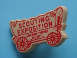 1958 SCOUTING EXPOSITION Golden Empire ........... Boy Scouts ( ) Zie Foto Voor Detail ! - Padvinderij