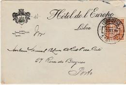 Cover :: Hotel De L'Europe :: Lisboa :: 1939 »» Porto - Reclame