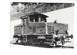 18965 - Locomotive De Manoeuvre Ee 3/3   Nr 112 Foto SBB (format 10X15) - Trains