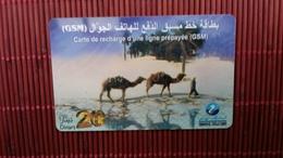 Prepaidcard Tunisia   Used Rare