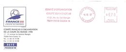 1997 Ema Du Comité D'organisation Coupe Du Monde 98  (n° 93678 ) - 1998 – France