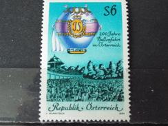 Timbre Neuf AUTRICHE 1984 :Bicentenaire Des Ascensions En Ballon En Autriche - 1945-.... 2ème République