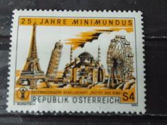 """Timbre Neuf AUTRICHE 1984 :25 Ans D'existence Du """"Minimundus"""" - 1945-.... 2ème République"""