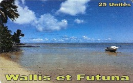 *WALLIS & FUTUNA* - Scheda A Chip Usata - Wallis En Futuna