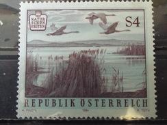 Timbre Neuf AUTRICHE 1984 : Beautés De La Nature - Lac Neusiedl - 1945-.... 2ème République