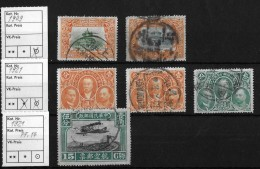 CHINA → 1909 Imperials Stamp And 1921 Republic Of China Stamps - China