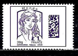 FRANCE 20g Monde** Violet Marianne De Ciappa-Kavena - 2013-... Marianne De Ciappa-Kawena