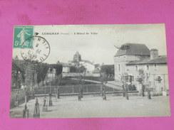 LUSIGNAN    1910   HOTEL DE VILLE   EDIT CIRC NON - Lusignan