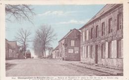 """Champaubert La Bataille - Maison Où Napoléon Séjourna 10 /11 Février 1814 (pub """"Champagne Mercier, Chocolat Menier) - France"""