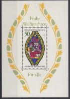 BRD Block 13, Postfrisch **, Mit Abart: Schwarzer Strich Im Heiligenschein Der Maria - [7] República Federal