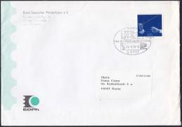 BRD 2025 EF Auf Brief Mit Sonderstempel: Bonn Haus Der Philatelie Und Postgeschichte 24.8.1999, Sächs. Staatskapelle - Briefe U. Dokumente
