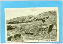 PALESTINE -judaica--vallée Des Tombeaux De Josophat -années 1910-20-édition The Cairo Postcard - Palestine