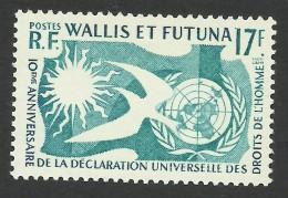 Wallis And Futuna, 17 F. 1958, Sc # 153, MNH - Wallis And Futuna