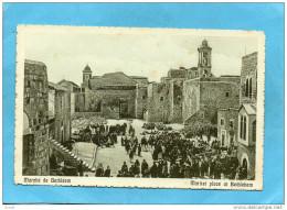 PALESTINE -judaica-BETHLEEM-Le Marché Animé-années 1910-20-édition Cairo Postcard - Palestine