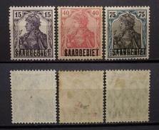 Dt.Reich Saargebiet 1922 - 1926 * Aufdruck Ungebraucht      (R47) - Deutschland