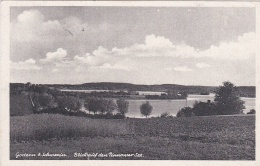 Feldpost WW2: Postcard Godern & Schwerin From Schwere Artillerie Ersatz Abteilung 48 P/m Schwerin (Meckl) 13.9.1943 - Militaria