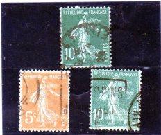 B - 1921 Francia - Seminatrice (fondo Unito) - Used Stamps