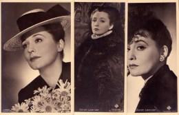 Zarah Leander Actrice Cinema Karlstad 1907 - Stockholm 1981 Sverige Suède Sweden - Acteurs