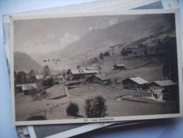 Zwitserland Schweiz Suisse VS Les Diaberets CP Ancienne Alte Ansichtskarte - VS Valais