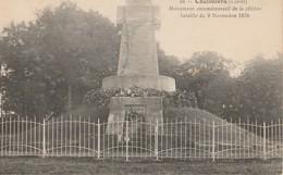 45 Coulmiers Monument Commémoratif De La Célèbre Bataille Du 9 Novembre 1870 - Coulmiers