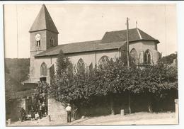 Photo Carte 17x11,9 Cm EULMONT Sortie De L'Eglise 1 - Autres Communes