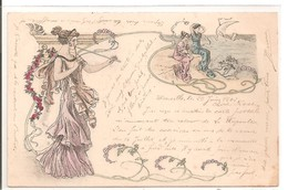 Carte Art Déco: Illustrateur ? - Illustrators & Photographers