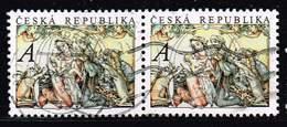 Tschechische Republik 2011 + 2014, Michel# 706 + 826 O Christmas 2011: Holy Family/ Christmas - Josef Lada - Gebraucht