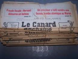 Le Canard Enchaîné - Année 1982 Complète (en Principe) - Política