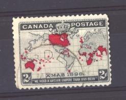 Canada  :  Yv  73  (o) - 1851-1902 Reign Of Victoria