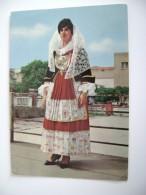 QUARTU SANT'ELENA - CAGLIARI   COSTUME DE SARDAIGNE   COSTUMI DI SARDEGNA   COSTUME SARDO   NON  VIAGGIATA  COME DA FOTO - Costumi