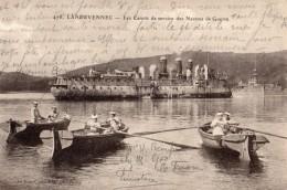 LANDEVENNEC LES CANOTS DE SERVICE DES NAVIRES DE GUERRE - Landévennec