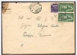 Italia/Italy/Italie: Lettera Per Espresso, Special Delivery Letter, Lettre Par Livraison Express - 4. 1944-45 Repubblica Sociale