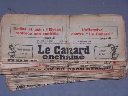 Le Canard Enchaîné - Année 1979 Complète (en Principe) - Política